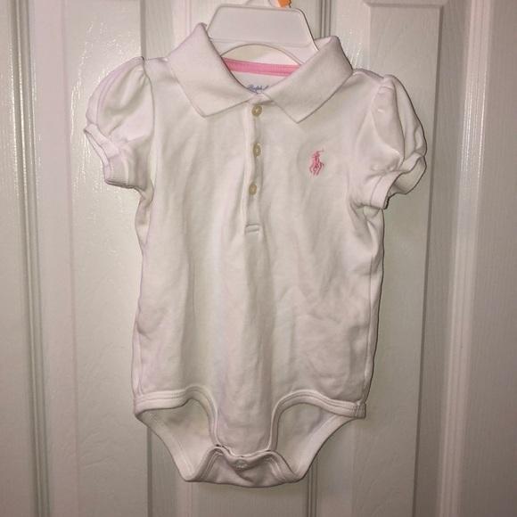 3909d3822 Polo by Ralph Lauren One Pieces | Polo Ralph Lauren Baby Girl Onesie ...